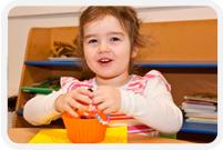 Happy Girl in Lilliput Childcare Rathdrum Creche